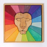 Grimms bouwspel leeuw regenboog
