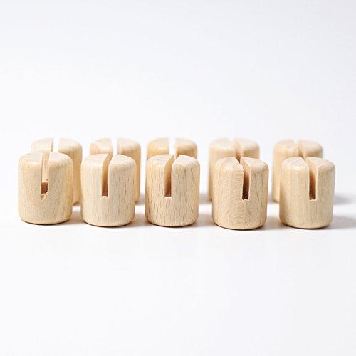 Grimms houten speelgoed Grimms houten foto houder per 10 stuks