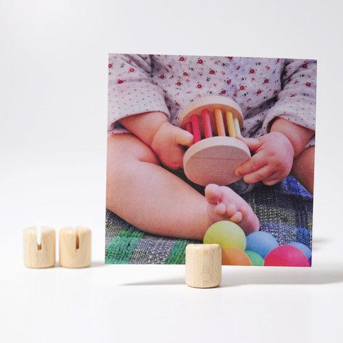 Grimms houten speelgoed Grimms foto houders 10 stuks