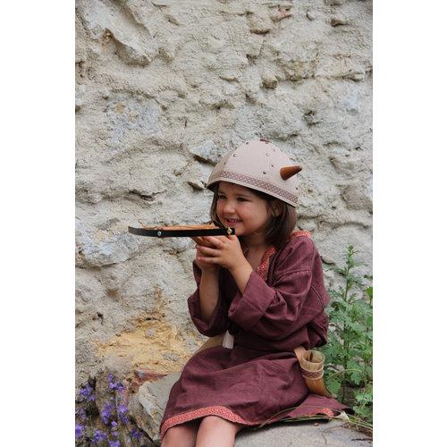 VAH - Spielzeugmanufaktur - kinderspeelgoed uit historische tijden Houten kruisboog Wiki klein met 3 zuignappijlen