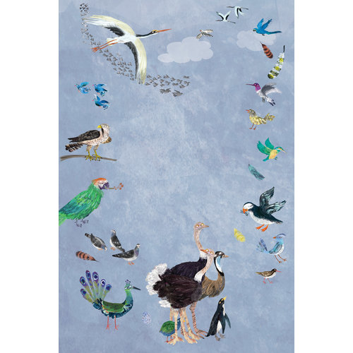 Lemniscaat Het vrolijke vogel stickerboek  met meer dan 200 stickers