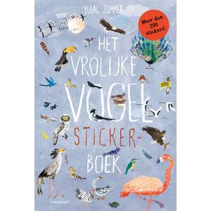 Lemniscaat Het vrolijke vogel stickerboek