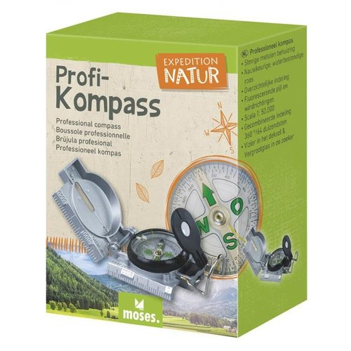 Moses -expeditie natuur Moses Expedition Natuur Kompas van metaal
