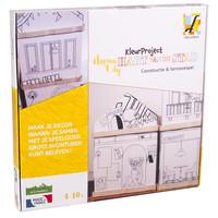 Fabulabox Hart van de stad kleurproject