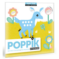 Poppik Mijn sticker kaarten - Bos