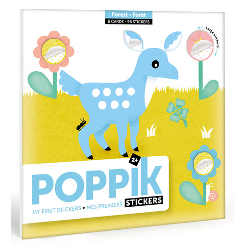 Poppik stickerkunst My first stickers - FOREST