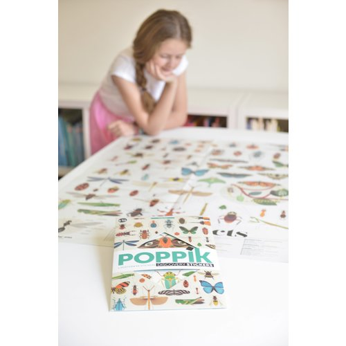 Poppik stickerkunst Poppik Stickerposter insecten