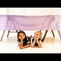 Sarah's Silks speelkleed katoen lavendel