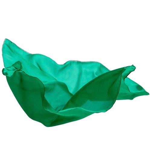 Sarah's Silk speelzijde Sarah's silks speelzijde smaragd groen