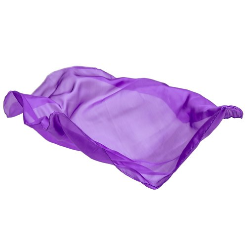 Sarah's Silk speelzijde Sarah's Silks lila paars zijden doek