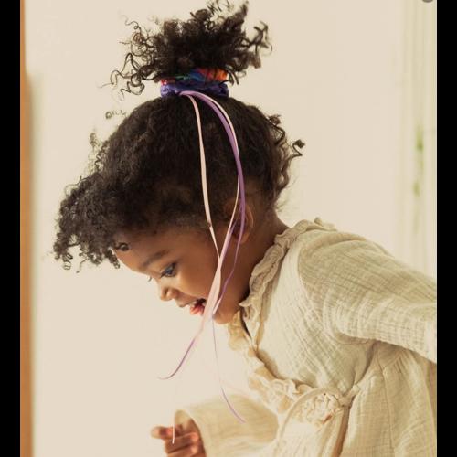 Sarah's Silk speelzijde Sarah's silks haarband regenboog