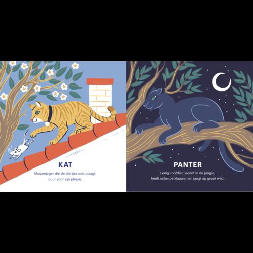Boycottbooks Uitgeverij Boycott Tam en wild, huisdier versus wild dier