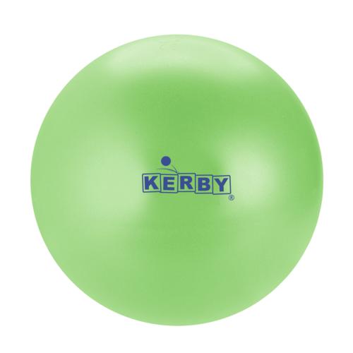 Kerby sportspeelgoed Kerby Bal limegroen o.a. voor stoepranden