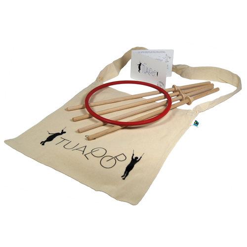 TicToys ecologisch beweegspeelgoed TicToys Tualoop cooperatief buitenspel