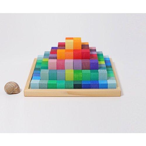 Grimms houten speelgoed Grimms Piramide bouwset