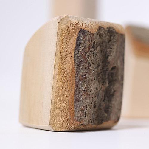 Grimms houten speelgoed Grimms Waldorf blokken - natuurlijk spelen