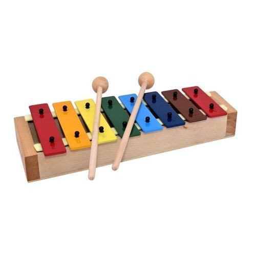Voggenreiter kindermuziekinstrumenten Mijn eerste Xylofoon met 9 tonen