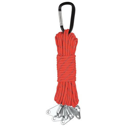 Moses -expeditie natuur Expeditie natuur paracord set zwart of rood