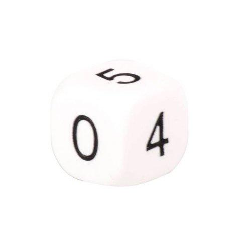 Koplow Games Dobbelstenen nul tot en met  vijf 0-5 - 10 stuks