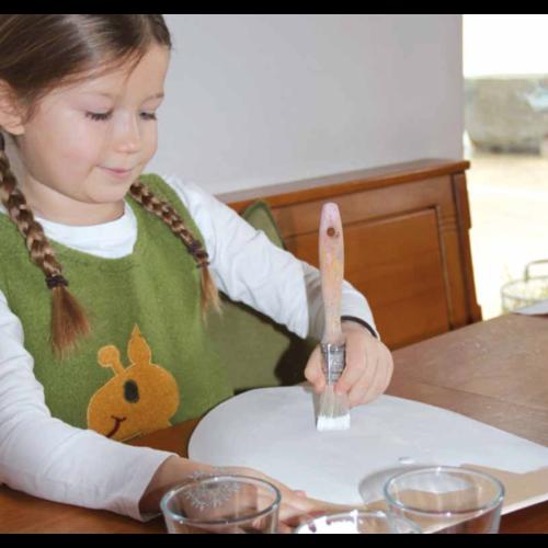 VAH - Spielzeugmanufaktur - kinderspeelgoed uit historische tijden Ridder schild onbewerkt
