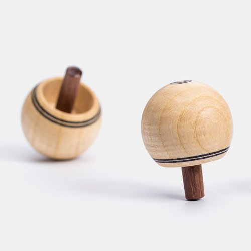 Mader houten tollen Mader houten Omdraaitol natuur