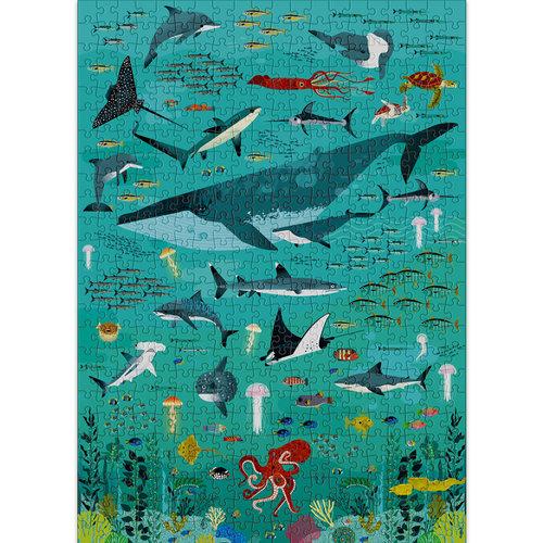 Poppik stickerkunst Poppik Puzzle Ocean 500 stukjes