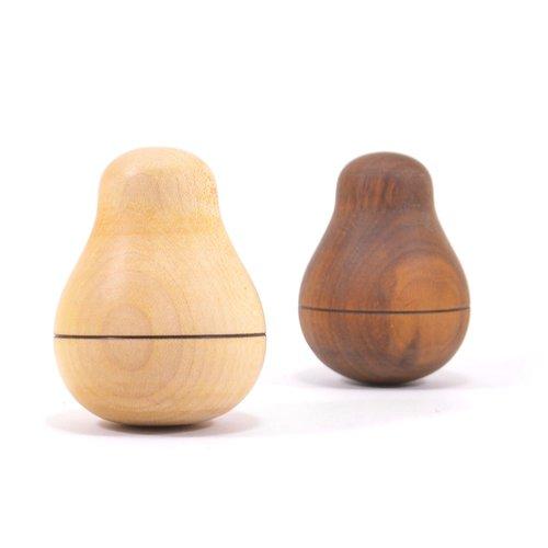 Mader houten tollen Duikelaar peer licht esdoornhout