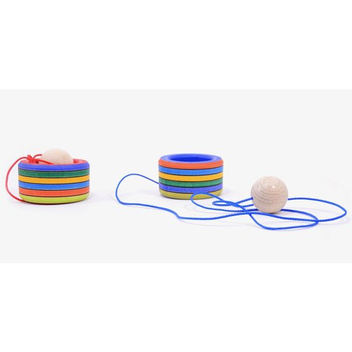 Mader houten tollen Mader Bilboquet - Cup and ball