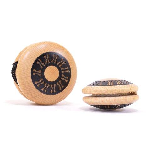Mader houten tollen Ambachtelijk gemaakte Jojo