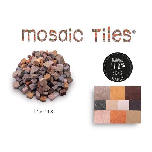 Neptune Mosaic Pot met 750 gekleurde mozaieksteentjes