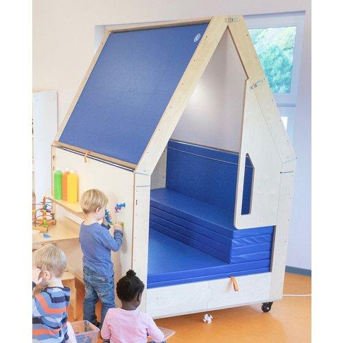 RobHoc flexibele schoolmeubels Deelbaar multifunctioneel speelhuisje voor gymmatten