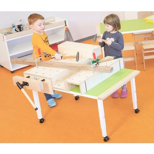 RobHoc flexibele schoolmeubels Robhoc basis workbench - werkbank