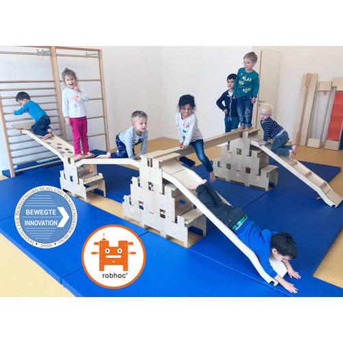 RobHoc flexibele schoolmeubels RobHoc gym totaal 6 elementen