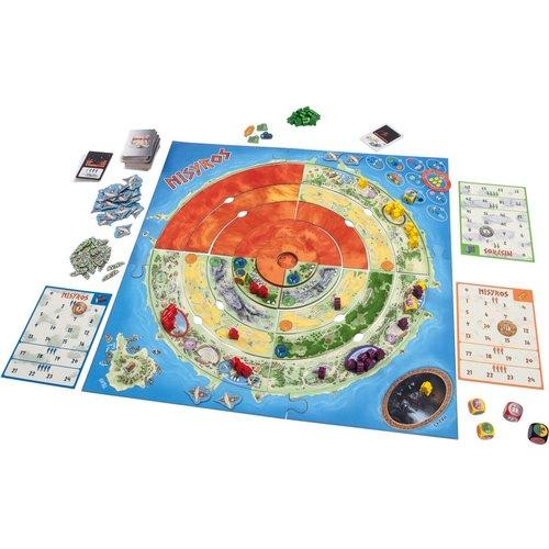 Sunny games - Zonnespel - coöperatieve spellen Nisyros, een strategisch samenwerkingsspel