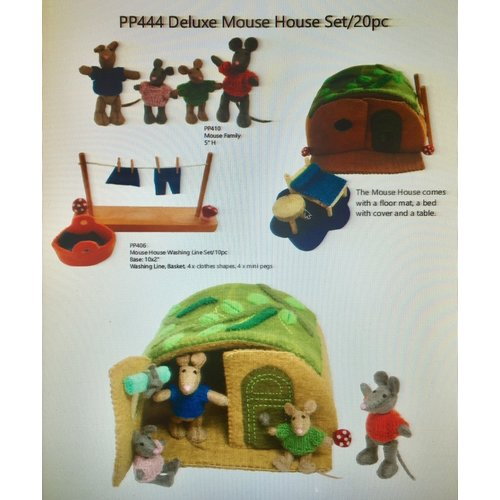 Papoose Toys Papoose Toys Muizenhuis luxe