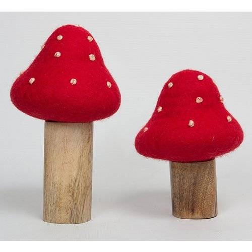 Papoose Toys Papoose Toys Twee Paddenstoelen