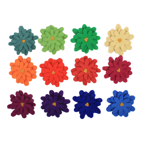 Papoose Toys TPapoose Toys waalf Bloemen Aster op hout
