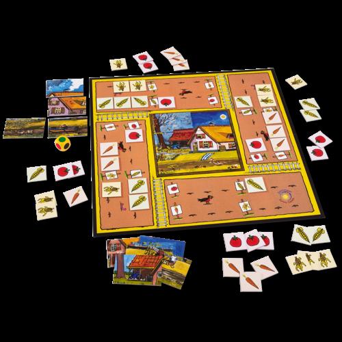 Sunny games - Zonnespel - coöperatieve spellen Oogsttijd: zaaien en oogsten voor het winter wordt