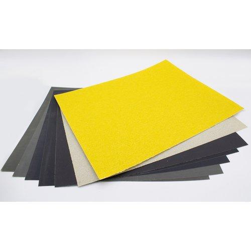 Kunstwerk Kunstwerk Schuurpapierset voor speksteen