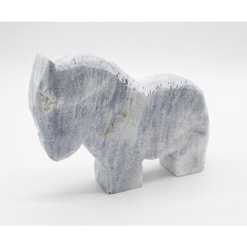 Kunstwerk Kunstwerk Speksteenset vijf dierfiguren