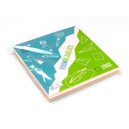 Vouwblaadjes FSC papier 200 stuks
