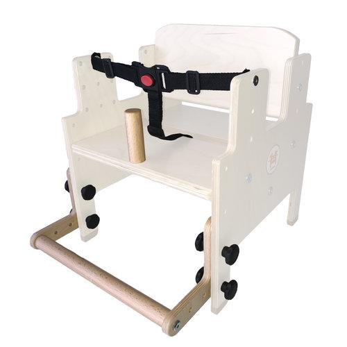 RobHoc flexibele schoolmeubels ROD-L-SET verbindingsstuk voor kruk