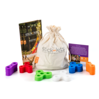 Stick-lets Buurtpakket Kit 36 constructiestukken