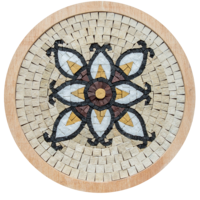 Mosaicbox - mozaiek Mandala 5
