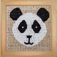 Mosaicbox - Mozaiek met lijst Panda