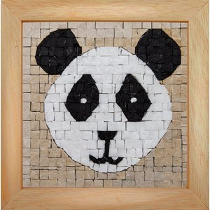Neptune Mosaic Mosaicbox - Mozaiek met lijst Panda