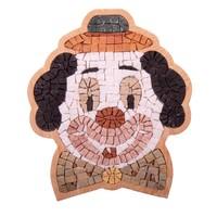 DIY Mozaiek Clown portret Special