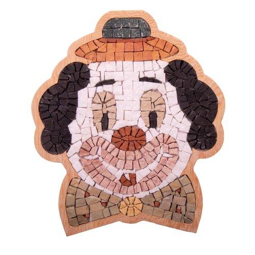 Neptune Mosaic DIY mozaiek clown face Special ca 17 cm