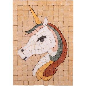 Neptune Mosaic Mosaikit - Mozaiek Eenhoorn face