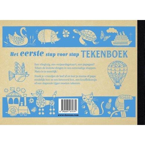 Lannoo kinderboeken Lannoo Het eerste stap voor stap tekenboek